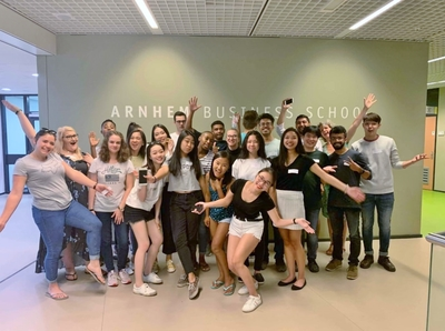 Summer program at Arnhem Business School gathered 24 students from 13 different countries