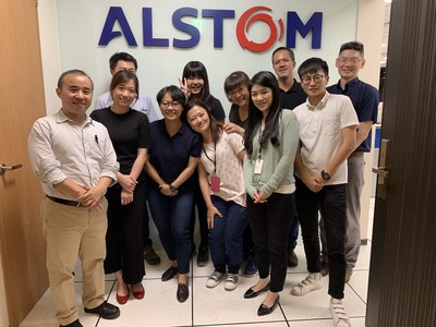 Jamie Huang is a HR Associate at Alstom