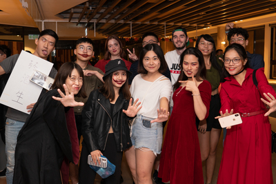IBMBA and GHRM MBA students enjoyed the Halloween Event