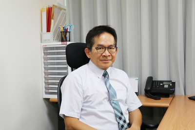 Direcor of the Institute of Biomedical Informatics at National Yang-Ming University Professor Chun-Ying Wu
