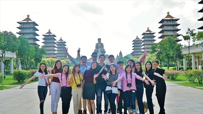The professors and students from Chiang Mai University visited Fo Guang Shan Buddha Museum.