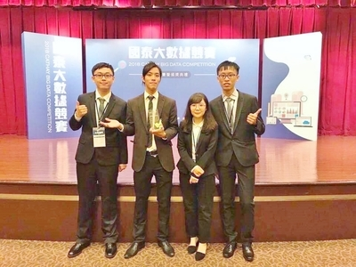 Students of Department of Business Management teamed up to participate in the competition and win the award.